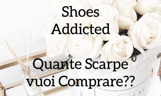 Shoes addicted? Quante scarpe vuoi comprare? Ti serve una scarpiera: