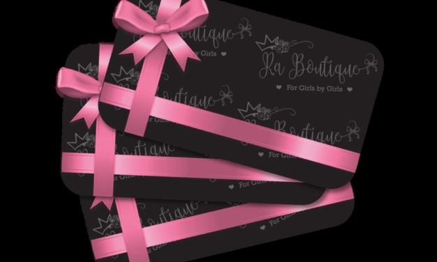 Gift card r.a. boutique| Regalati un pò di Shopping