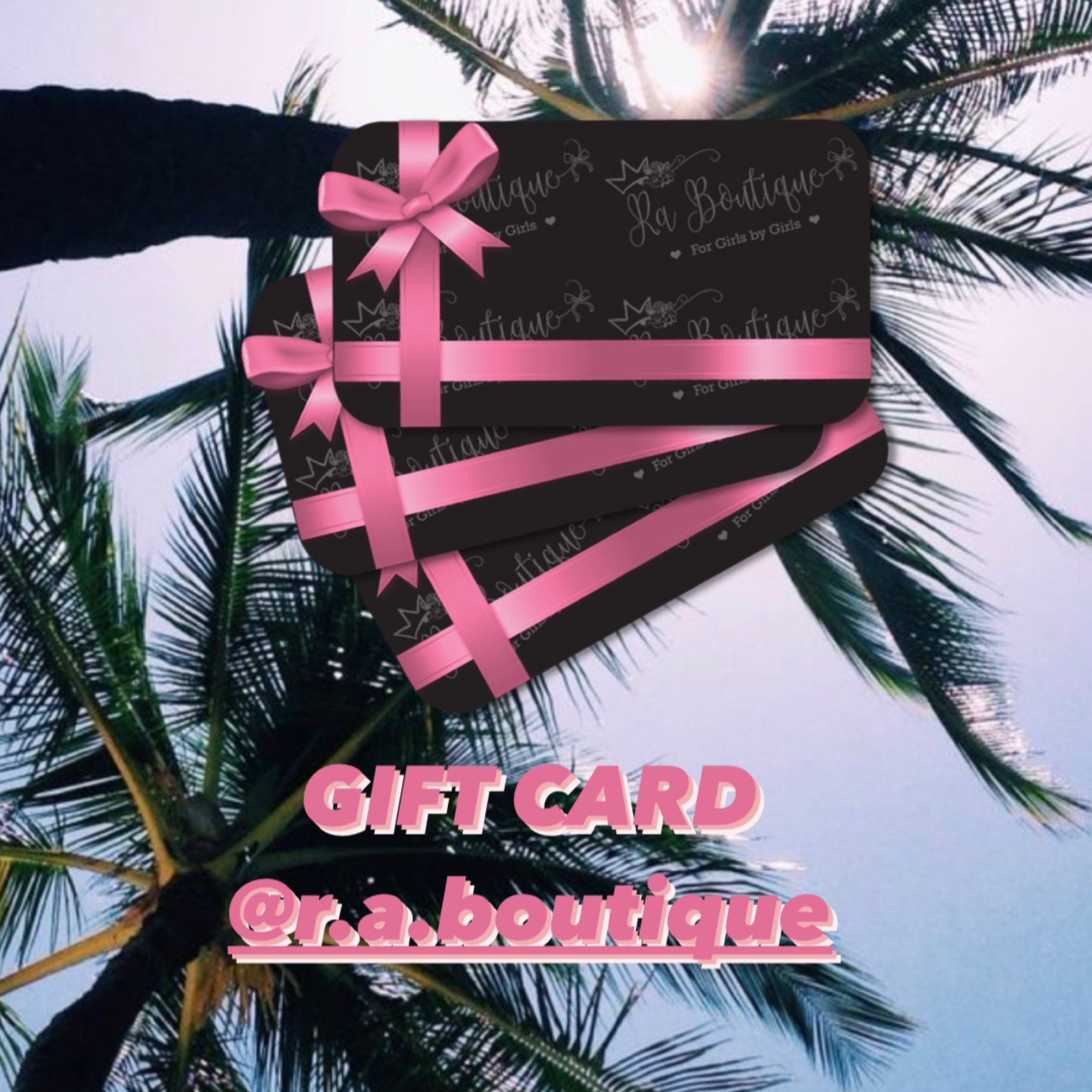gift card Ra boutique